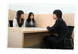 教室にて無料学習相談のイメージ