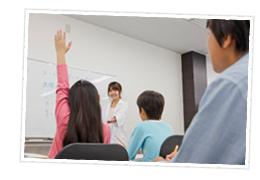週回数・受講科目・通塾曜日・時間帯を決定、授業スタート!のイメージ